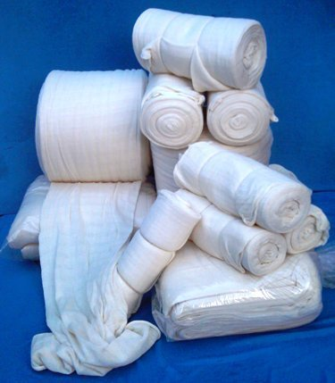 Cotton Stockinette 400g Roll
